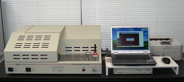 CE-440 有機微量元素分析装置(手動モード)