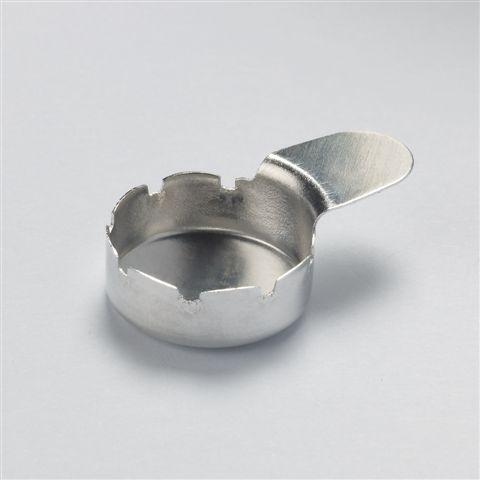 アルミニウム重量測定用パン13mmφx3.5mmH100個入