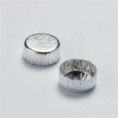アルミニウム重量測定用パン6φx2.5mm250個入